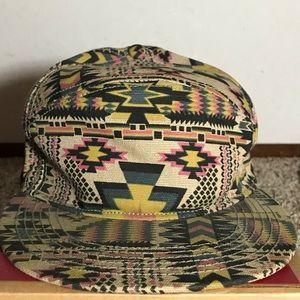 Aztec print hat
